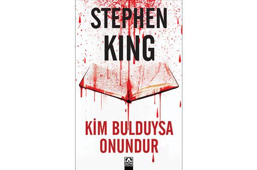 STEPHEN KING'İN BEKLENEN ROMANI TÜM KİTAPÇILARDA