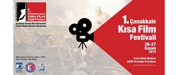 1. ÇANAKKALE FİLM FESTİVALİ BAŞLADI