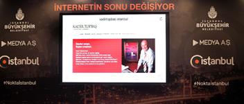İSTANBUL'A İNTERNETTE MİLLİ ALAN ADI