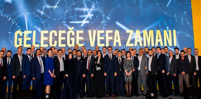 Vefa Holding 25. yılını kutladı