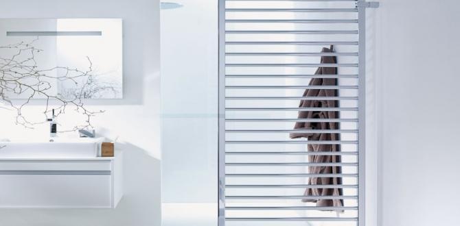 Zehnder Subway havlu radyatör ile banyolara sıcacık bir dokunuş