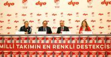 Türkiye'nin boyası DYO, Milli Takımın yanında