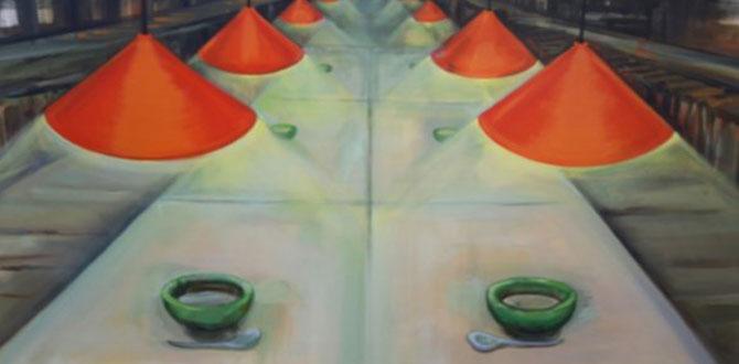 Begüm Canel'in Mutfaktaki Sır & Odalar resim sergisi açıldı