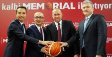 Türk basketboluna Memorial'dan sağlıklı destek