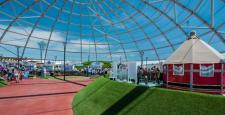 Antalya EXPO 2016'nın doğal güneş koruması Serge Ferrari'den…
