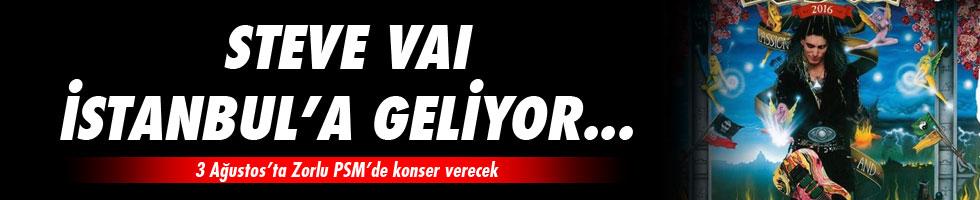 Steve Vai 3 Ağustos'ta İstanbul'da