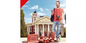Vodafone Red'liler, dünyanın en geniş 4.5G ağıyla özgürce iletişim kuracak