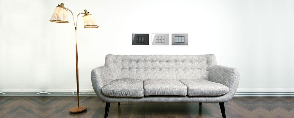 BTicino, mobilyanızla estetik bir uyum sağlıyor
