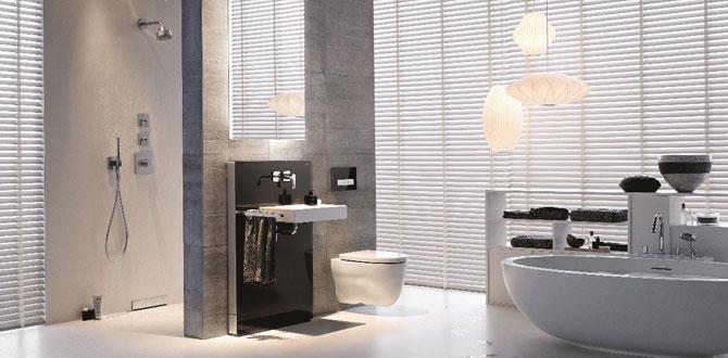 Banyo mimarisine değer katan tasarım Geberit Sigma50
