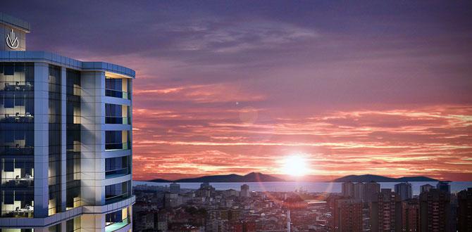 Ataşehir'in kazançlı ofis projesi; Vogue Business Center
