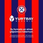 Zonguldak Kömürspor'un forma sponsoru Yurtbay Seramik oldu
