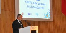 Küba Alım Heyeti İstanbul'da 149 ikili görüşme gerçekleştirdi
