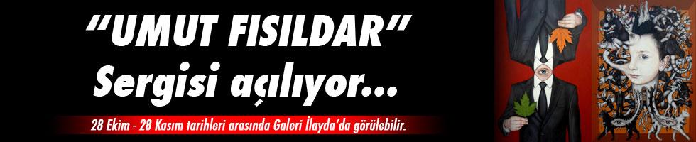 """Atilla Galip Pınar'ın """"Umut Fısıldar"""" adlı sergisi Galeri İlayda'da açılıyor"""