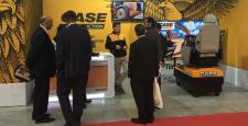 Case İş Makineleri, Bursa Blok Mermer Fuarı'nda ürünleriyle göz doldurdu