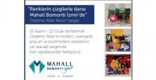 """""""Renklerin Çizgilerle Dansı"""" Mahall Bomonti İzmir'de"""