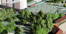 Antalya Büyükşehir Belediyesi Cumhuriyet Meydanı'nı adına yakışır hale getiriyor
