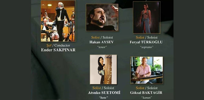 Türk-Japon dostluk rüzgarı 6 Ocakta Antalya'da esecek!..