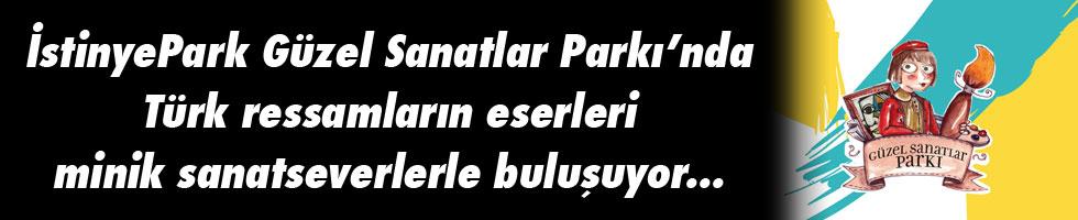 İstinyePark Güzel Sanatlar Parkı'nda, Türk ressamların eserleri minik sanatseverlerle buluşuyor