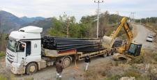 Gazipaşa'nın Can Suyu Projesi'nde ikinci etap başladı
