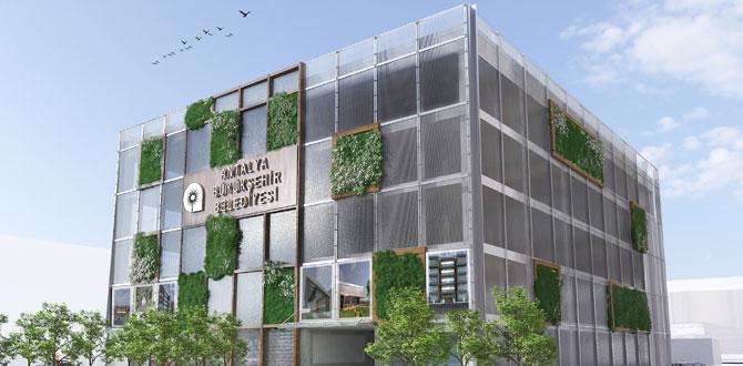 Antalya Büyükşehir Belediyesi katlı otoparklar yapıyor
