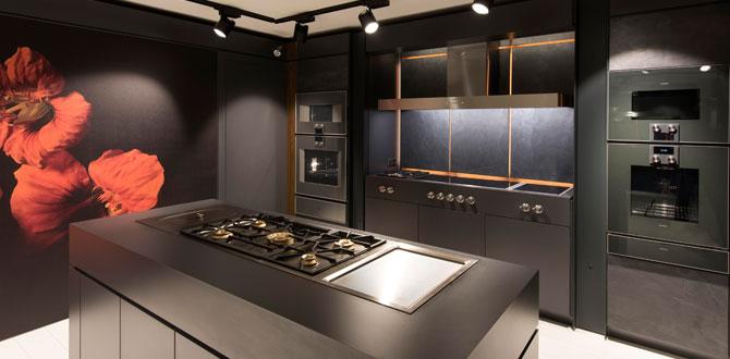 Dünyanın ilk Gaggenau Brasserie Showroom'u Adana'da açıldı…