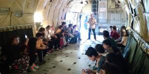 İstanbul Havacılık Müzesi'nde Koruncuklar için 23 Nisan etkinliği…