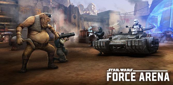 Star Wars™: Force Arena'ya dört yeni karakter ve tekrar oynatma özelliği geliyor…
