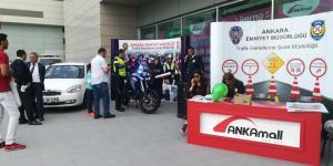 Trafik Güvenliği ve Eğitimi Haftası renkli etkinliklerle ANKAmall'da kutlandı…
