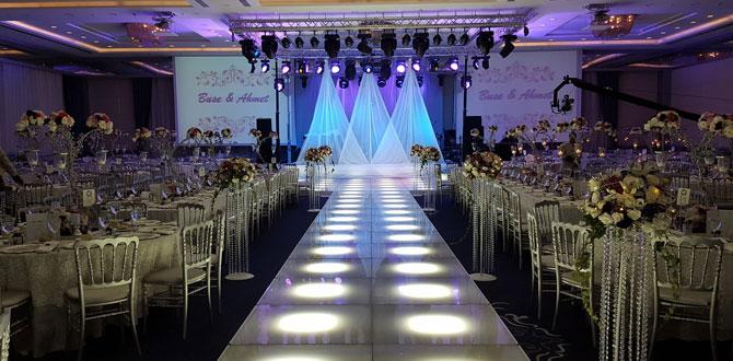 Salon düğünlerinin vazgeçilmezi: Dedeman Bostancı