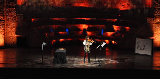 Viktoria Mullova Aya İrini'de İstanbul'u büyüledi…