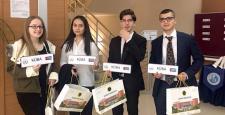 Uğurlular, Model Birleşmiş Milletler organizasyonu ile sertifikalarını aldı…