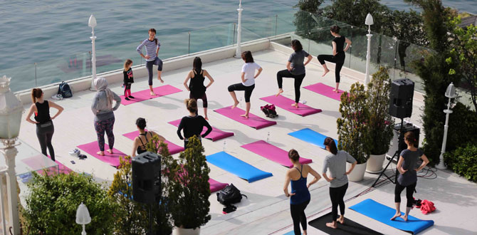 Boğaz'da Yogayla Yaza Hazırlık başladı.…