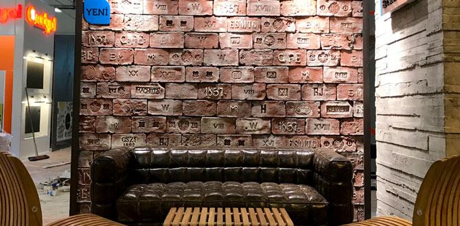 Artstone yeni tuğla ürün serisi Heritage ile geçmişin bütün izlerini iç mekanlara taşıyor…