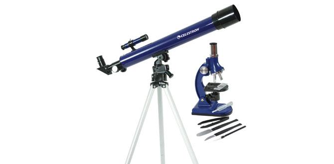 Celestron ile ikisi bir arada; hem teleskop hem mikroskop
