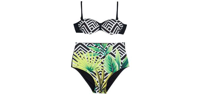 Sahillerde esen 'Retro Havası': Dagi'den yüksek bel bikiniler