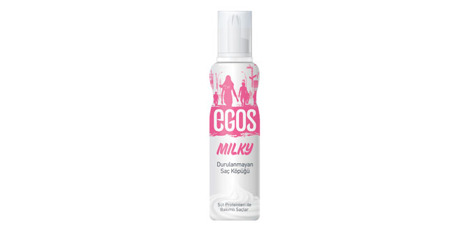 Egos Milky ile krem şanti etkisini saçlarınıza taşıyın…