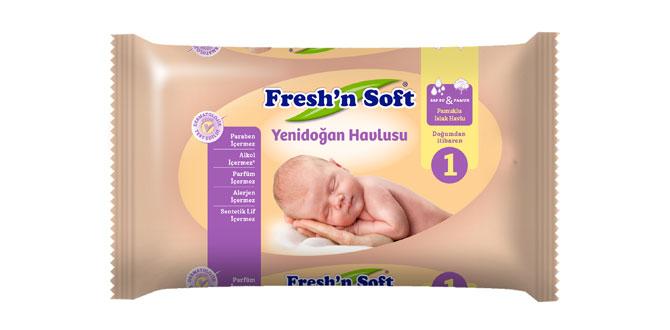 Fresh'n Soft'un yeni bebek serisine tüm anneler bayılacak…