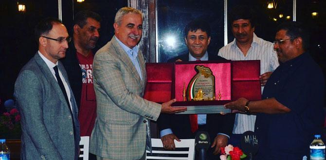 Kuveyt Atletizm Milli Takımı Bursa'da