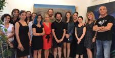 İyilik İçin Sanat Derneği üyeleri 106. Sanat Buluşması'nda sanatçı Ali Elmacı'nın atölyesini ziyaret etti…
