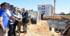 Gönüllü Hizmet Vakfı, Mustafa Saffet Fen Lisesi ve İnal Aydınoğlu Öğrenci Yurdu binasının temelini attı…