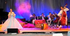 Harbiye'de müzikal gecesi…