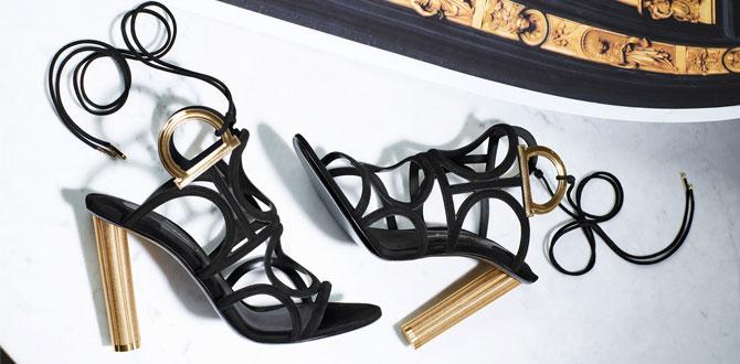 Salvatore Ferragamo Paul Andrew Pre-Fall 2017/2018 kadın ayakkabı koleksiyonu