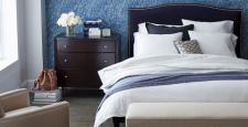 Crate and Barrel'dan yatak odası için tasarım ve dekorasyon önerileri…