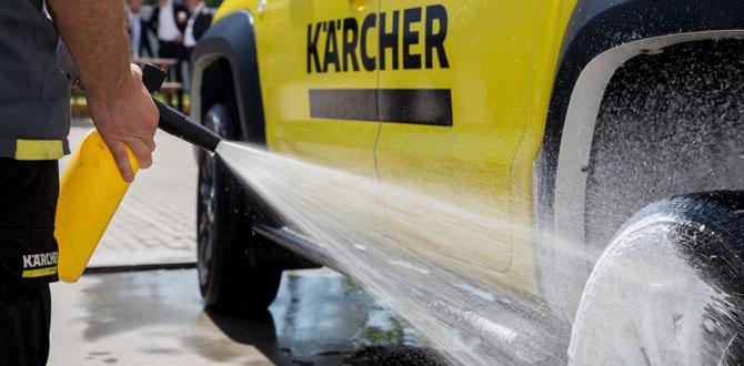 Kärcher'den oto yıkama noktaları için dev kampanya!