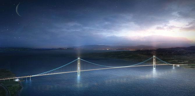 Tekfen Mühendislik, dünyanın en uzun asma köprüsüne müşavirlik hizmeti verecek…