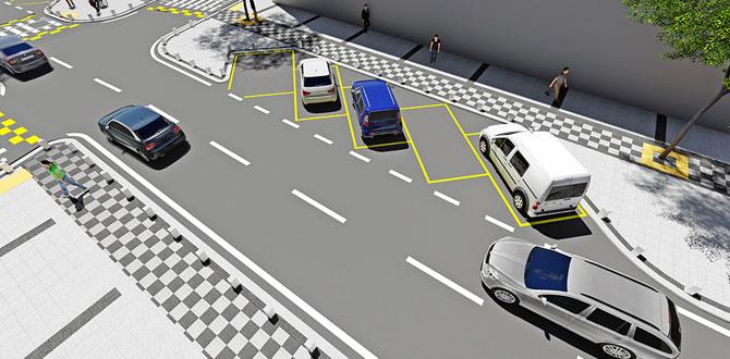 Araçlar cep otoparka park edilecek…