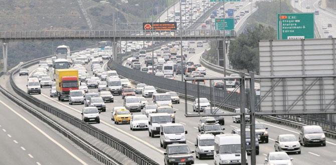 Türkiye'de 7 kişiye 1 otomobil düşüyor…