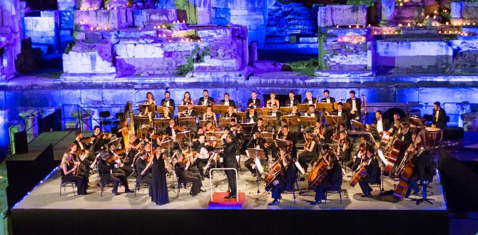 Efes Opera ve Bale Günleri Efes Antik Tiyatro'daki muhteşem konserle başladı…