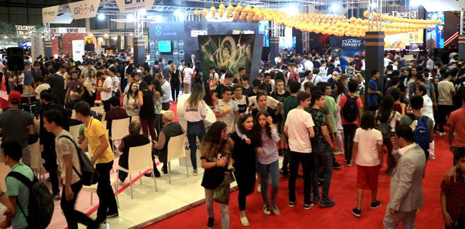 Dijital eğlence ve oyun dünyasını buluşturan Gamex 2017'yi 150 bin kişi ziyaret etti…