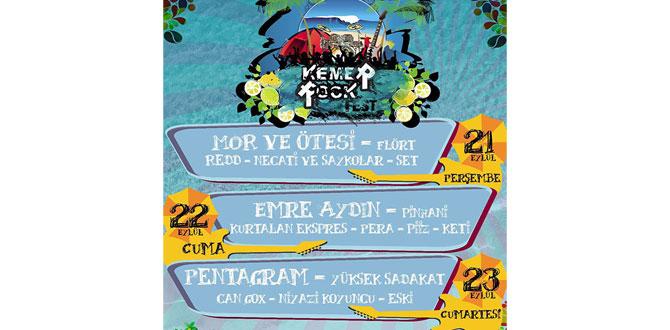 Kemer Rock Festivali başlıyor…